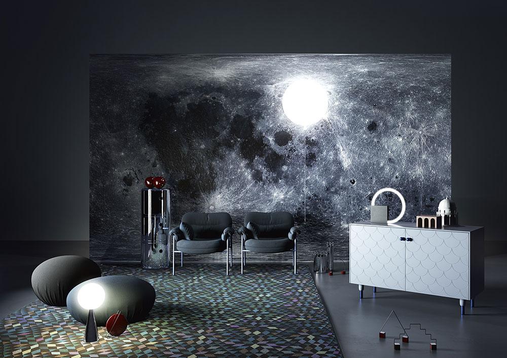 Interior design: trendscapes, un moodboard di tardo pomeriggio