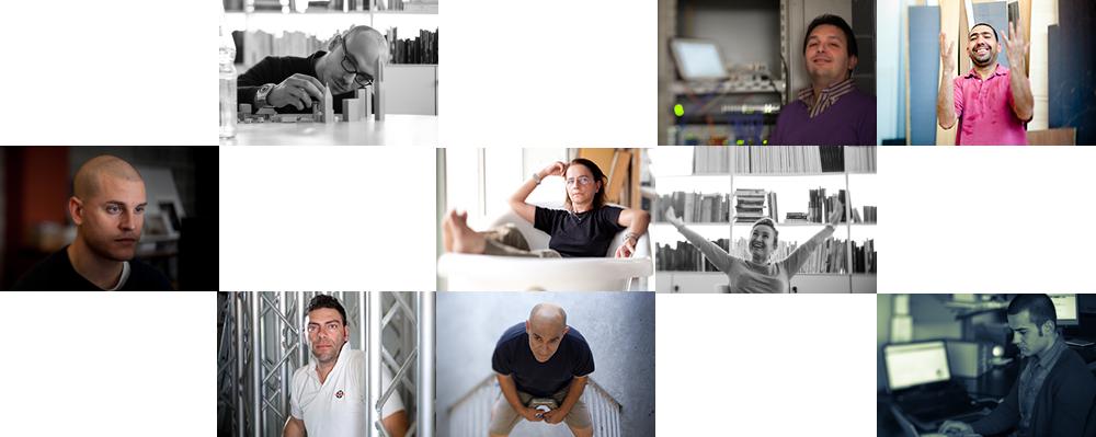 chi siamo, una carrellata di professionisti di Modo Fotografia