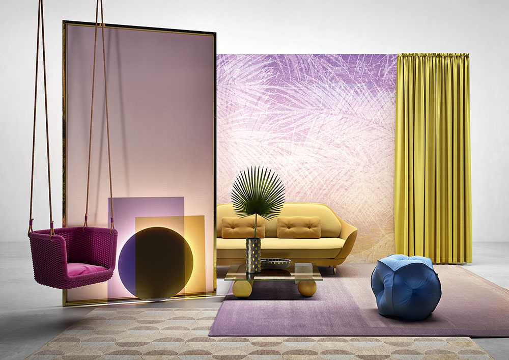 Interior design: trendscapes, un moodboard di mattina